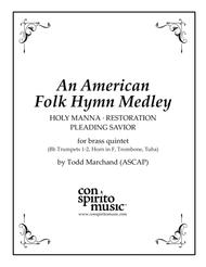 An American Folk Hymn Medley — brass quintet