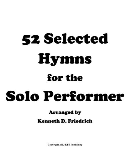 52 Selected Hymns for the Solo Performer - string bass