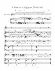 Je dis que rien ne m'épouvante (Micaela's Aria) from Carmen - Accessible Accompaniments Edition