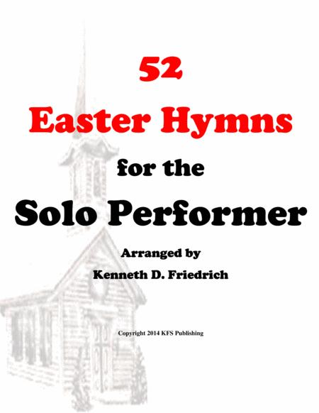 52 Easter Hymns for the Solo Performer - alto saxophone