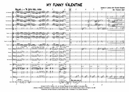 My Funny Valentine - Jazz Ballad - Big Band