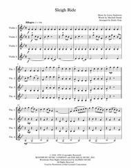 Sleigh Ride (4 Violins)