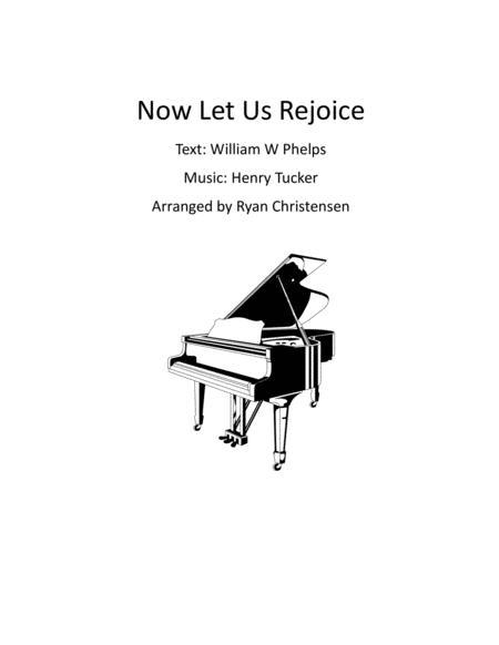 Now Let Us Rejoice