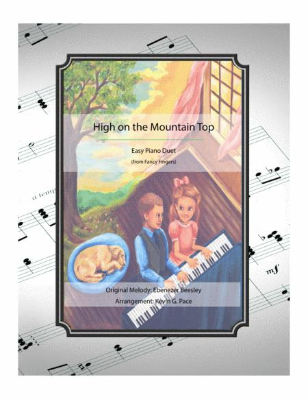High on the Mountain Top - easy piano duet