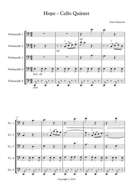 Hope - Cello Quintet