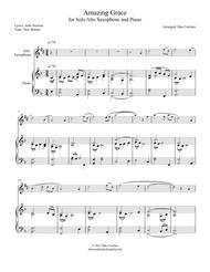 Alto Sax solo -