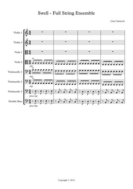 Swell - Easy-to-Play String Ensemble