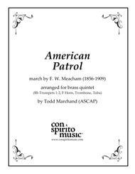 American Patrol - brass quintet