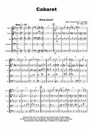 Cabaret - Jazz - Liza Minelli - String Quintet