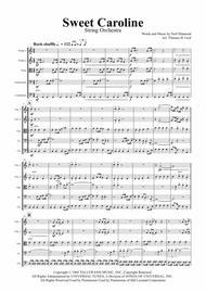 Sweet Caroline - Neil Diamond Classic - String Orchestra