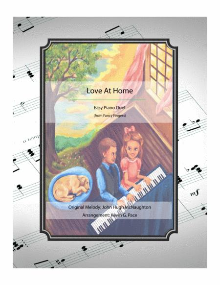 Love At Home - easy piano duet