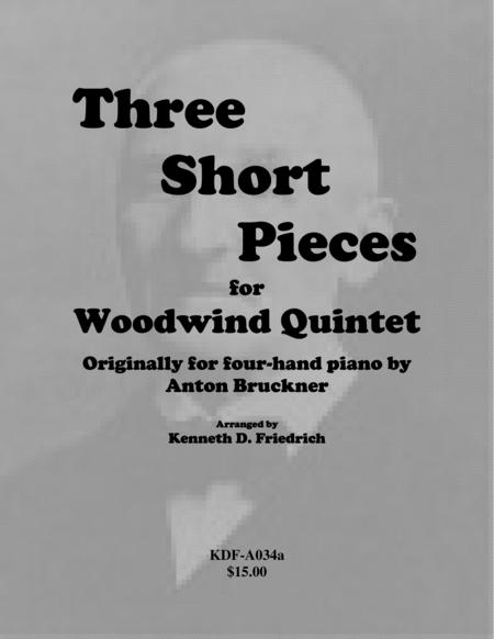 Three Short Pieces - woodwind quintet