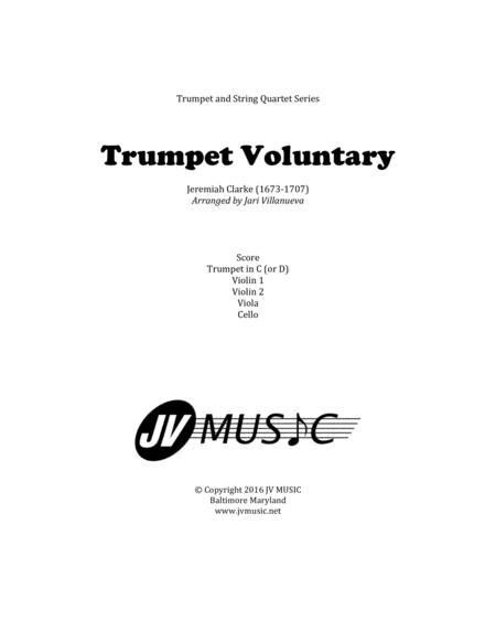 Download Trumpet Voluntary (Jeremiah Clarke) For Trumpet And String