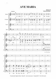 AVE MARIA - Bruckner - for SAATTBB Choir