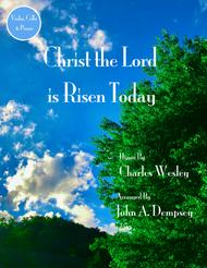Christ the Lord is Risen Today (Trio for Violin, Cello and Piano)