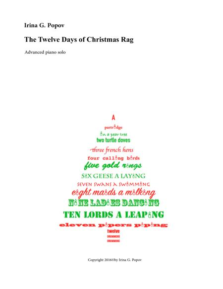The Twelve Days of Christmas Rag