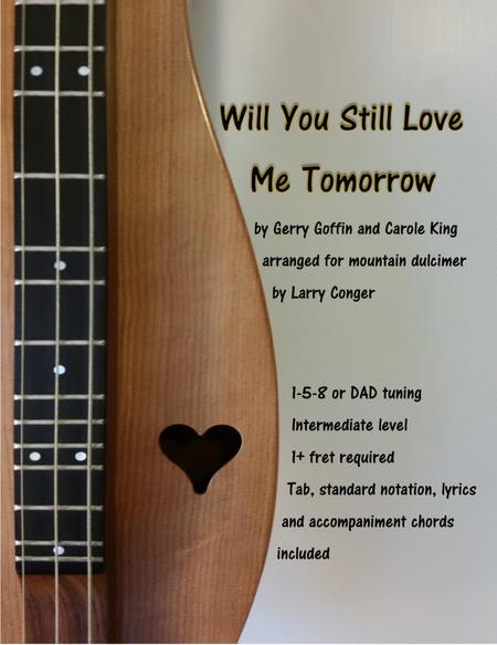 Download Will You Still Love Me Tomorrow Sheet Music By Amy ...