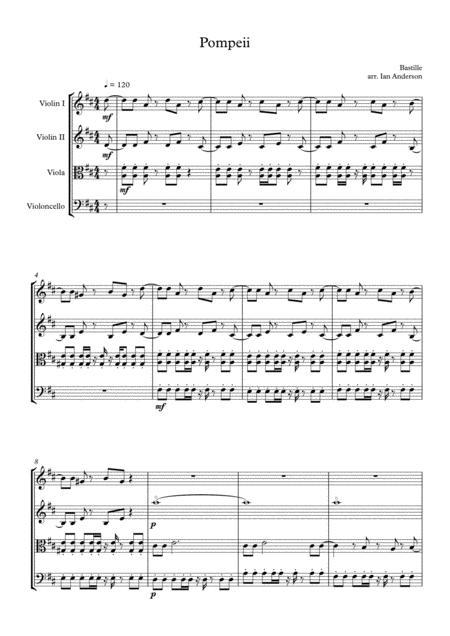 Pompeii (string quartet)