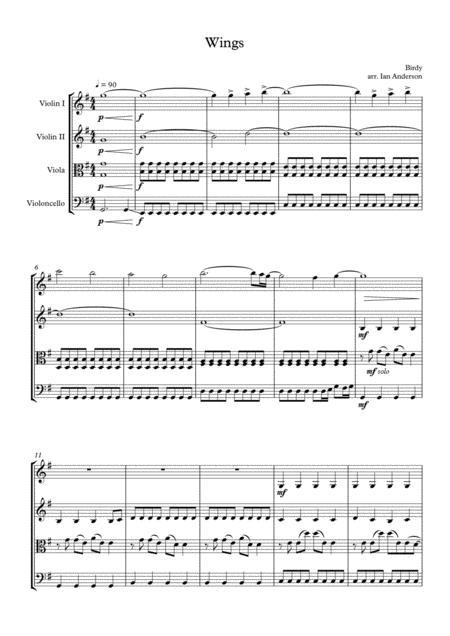 Wings (string quartet)