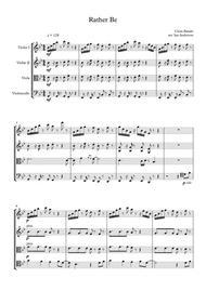 Rather Be (string quartet)