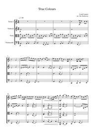 True Colors (string quartet)