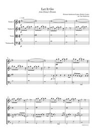 Let It Go from Disney's Frozen (string quartet)
