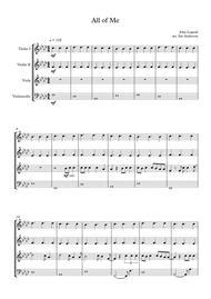 All Of Me (string quartet)