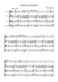 Walking On Sunshine (string quartet)