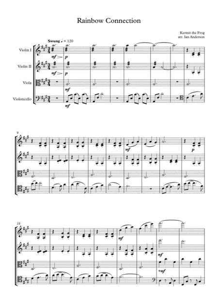 The Rainbow Connection (string quartet)