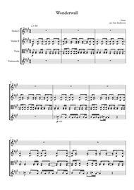 Wonderwall (string quartet)