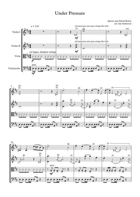 Under Pressure (string quartet)