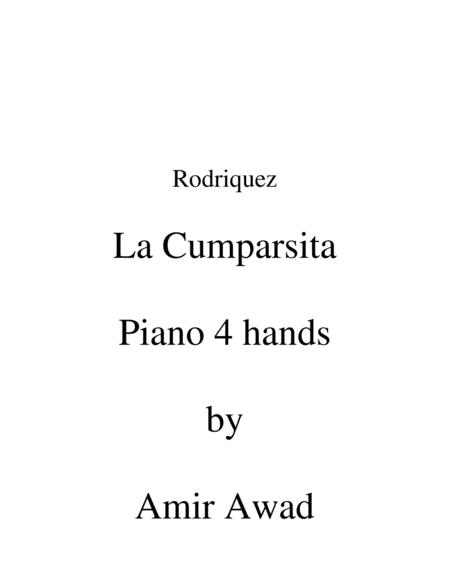 La Cumparsita Tango (arr for Piano Duet 4 hands)