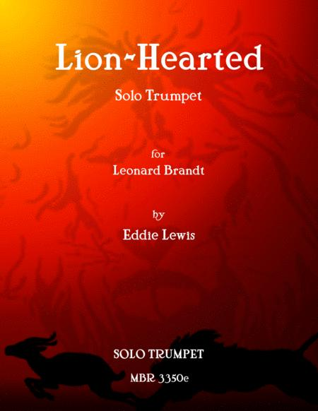 Lion-Hearded for Solo Trumpet by Eddie Lewis