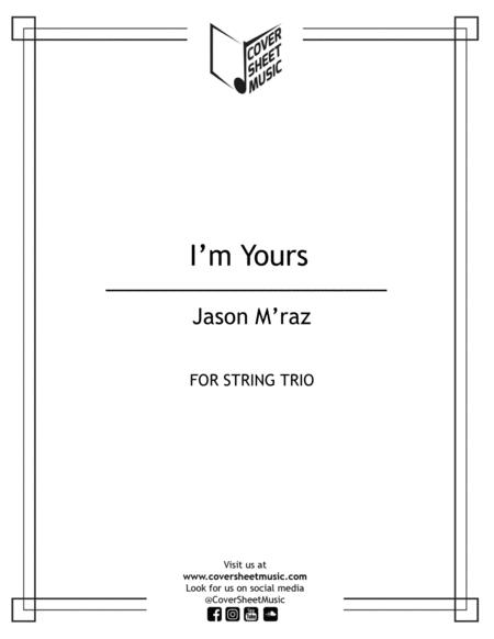 I'm Yours String Trio