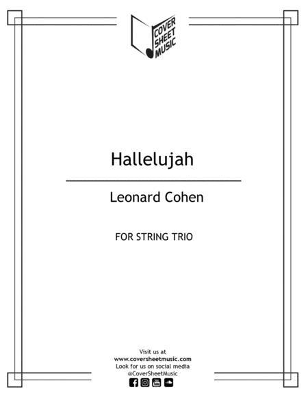 Hallelujah Leonard Cohen String Trio