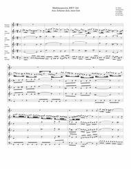 Aria: Erbarme dich, mein Gott from Matthäuspassion (arrangement for 6 recorders)