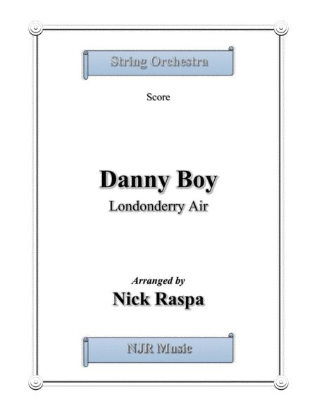 Danny Boy for string orchestra (Full Set)