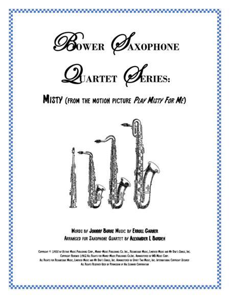 Misty - Saxophone Quartet