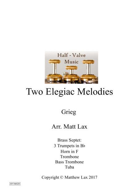 Two Elegiac Melodies (Brass Septet)