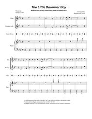 The Little Drummer Boy (Duet for Flute and Bb-Clarinet)