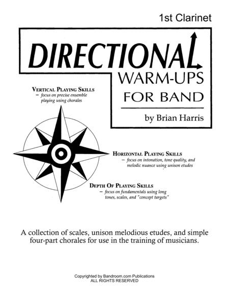Directional Warm-Ups for Band (method book - Part Book Set B: Clarinet 1, Clarinet 2, Clarinet 3, and site license to photocopy)