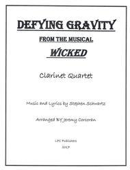 Defying Gravity for Clarinet Quartet