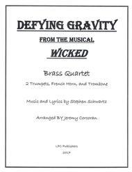 Defying Gravity for Brass Quartet