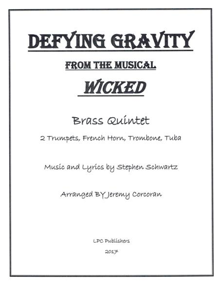 Defying Gravity for Brass Quintet