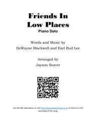 Friends In Low Places (Piano Solo)