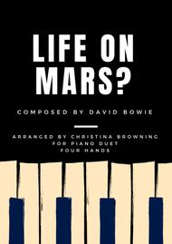 Life On Mars? for Piano Duet