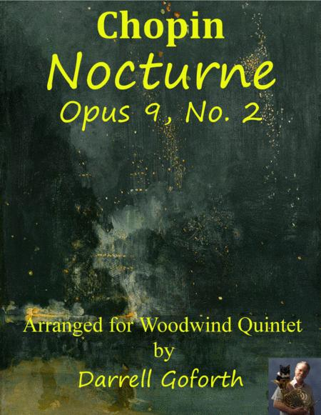 Chopin: Nocturne, Opus 9, No. 2 for Woodwind Quintet