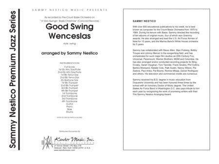 Good Swing Wenceslas - Full Score