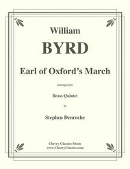 Earl of Oxford's March for Brass Quintet