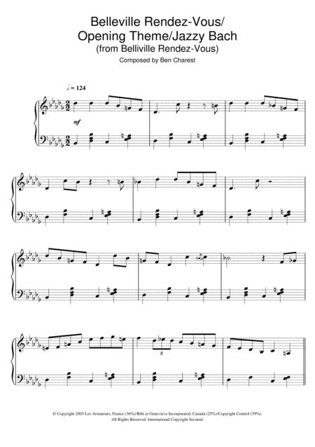 Belleville Rendez-Vous (Belleville Rendez-Vous/Opening Theme/Jazzy Bach)